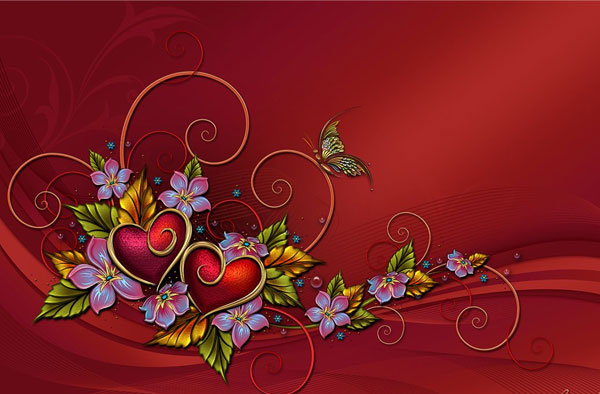 20 Beautiful Free Valentine Wallpapers