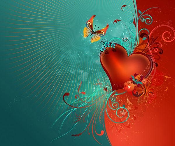 20 Beautiful Free Valentine Wallpapers 3
