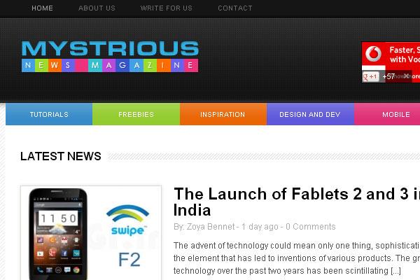 30 Most Famous Sites Built Using Wordpress 29