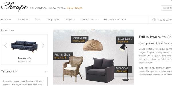 Most Impressive WordPress E-commerce Themes 3