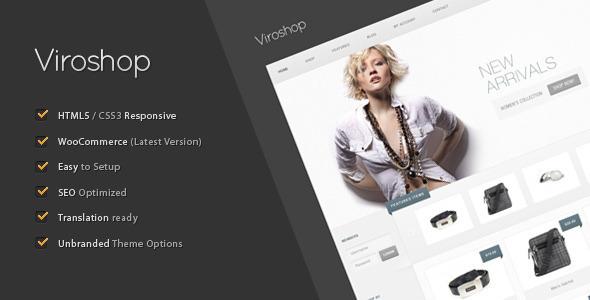 Most Impressive WordPress E-commerce Themes 5