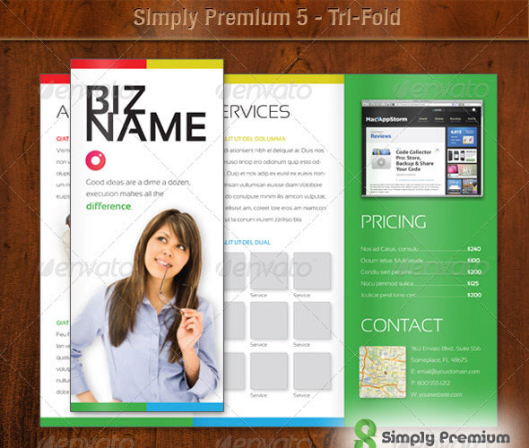 20 High Quality Free and Premium Brochure Template 1