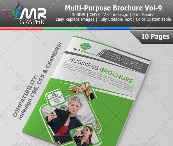 20 High Quality Free and Premium Brochure Template 9