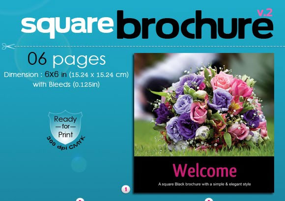 20 High Quality Free and Premium Brochure Template 12