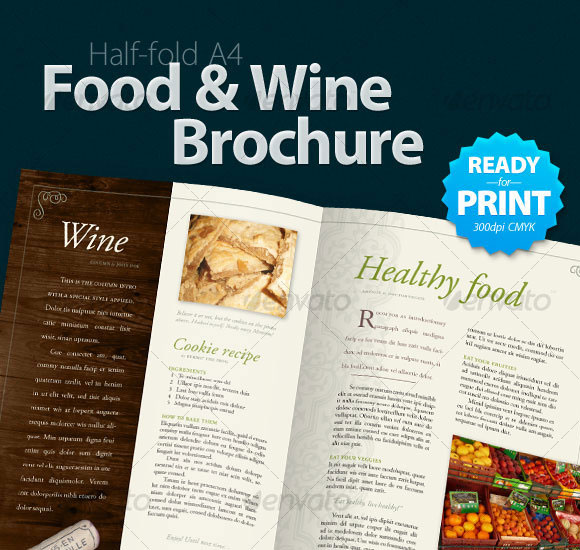20 High Quality Free and Premium Brochure Template 15