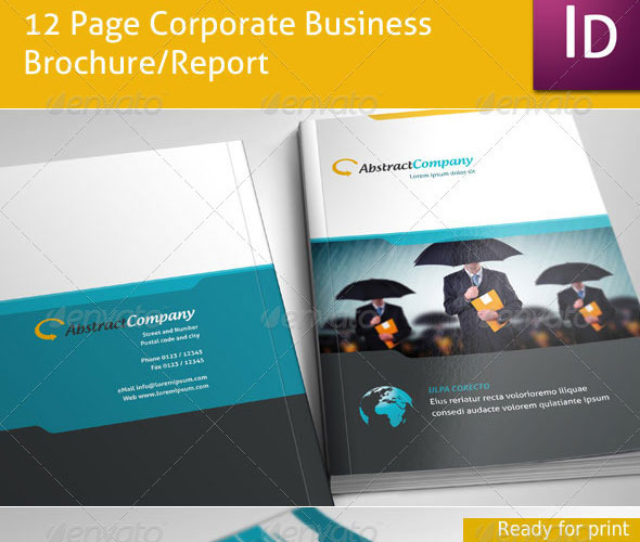 20 High Quality Free and Premium Brochure Template 7