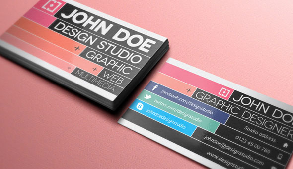 20 Magnificent Business Card PSD Templates for Free Download