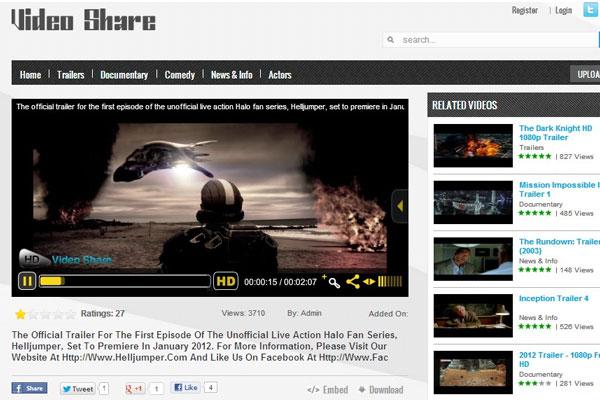 Top 10 best Joomla video sharing scripts 1