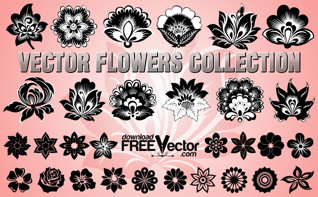 20 Free Set of Ornaments Vector Resources 5