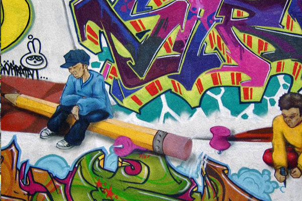 Beautiful Collection of Graffiti Art for Artists and Designers Inspiration 13