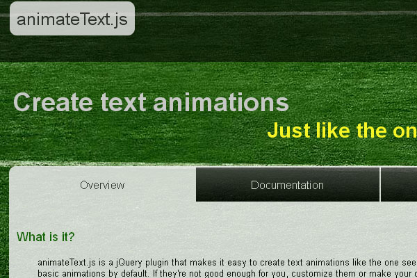 10 Best jQuery Plugins for Web Designer and Developers 5