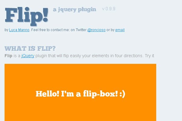 10 Best jQuery Plugins for Web Designer and Developers 8