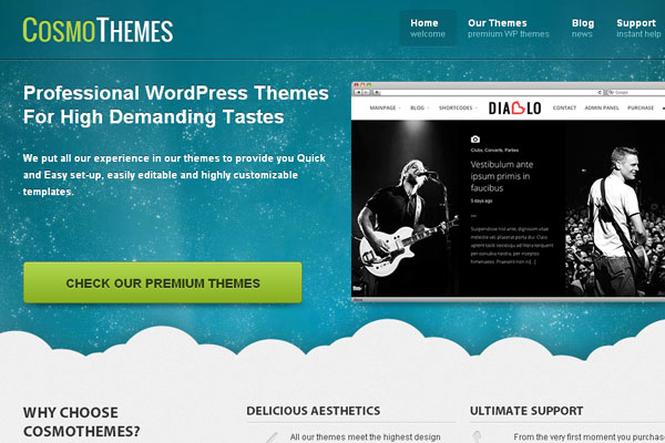 Ultimate Collection of Best Premium Wordpress Theme Store 13