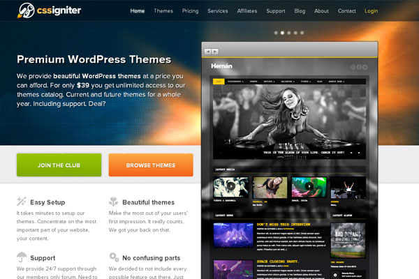 Ultimate Collection of Best Premium Wordpress Theme Store 15