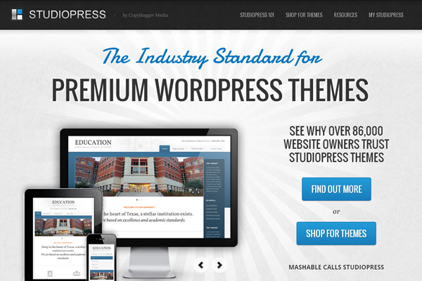 Ultimate Collection of Best Premium Wordpress Theme Store 2