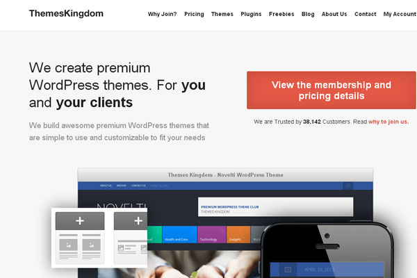 Ultimate Collection of Best Premium Wordpress Theme Store 8