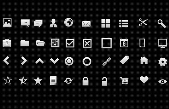 20 Useful Set of Free Web Element PSD
