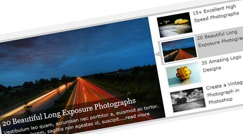 40 Top Level jQuery Image, Content Sliders and Slideshows 10