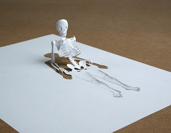 15 Mind-blowing Paper art for Designers Inspiration 11