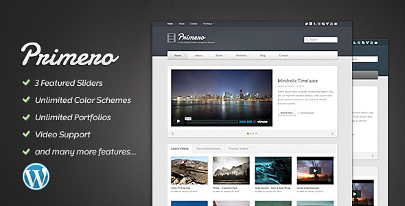 Top Downloading Wordpress Video Sharing Themes -2013 5
