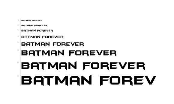 30 Movie fonts you can download for Free 13
