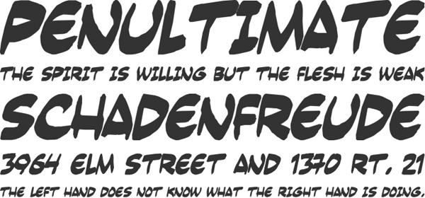 25 Free Brush Fonts For Designers 22