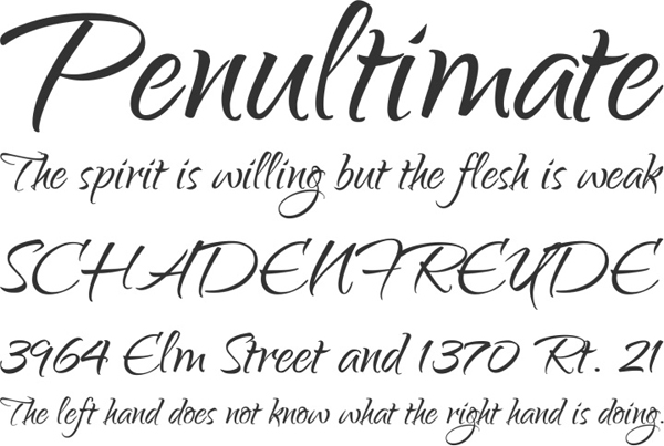25 Free Brush Fonts For Designers