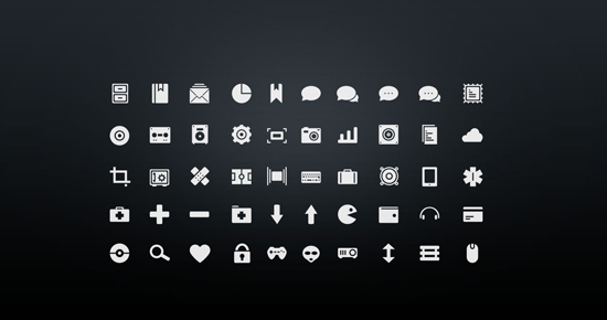 30+ Latest Free Flat Icon Sets For Your Use 9