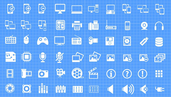 30+ Latest Free Flat Icon Sets For Your Use 11