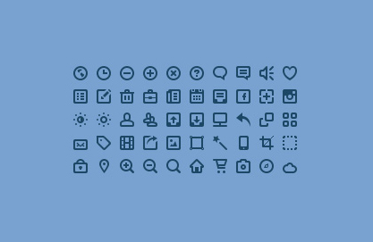 30+ Latest Free Flat Icon Sets For Your Use 13