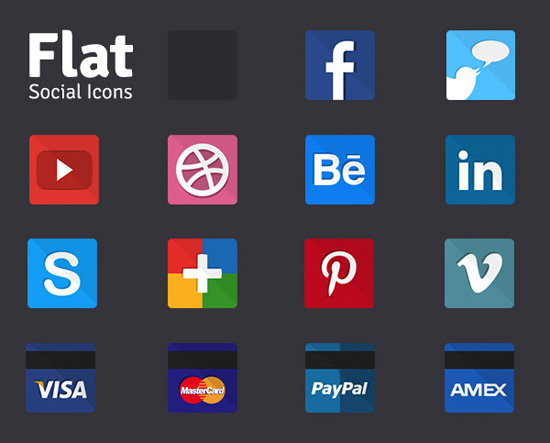 30+ Latest Free Flat Icon Sets For Your Use 27