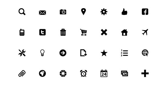 30+ Latest Free Flat Icon Sets For Your Use 7