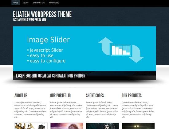 25 Free High Quality WordPress Themes 16