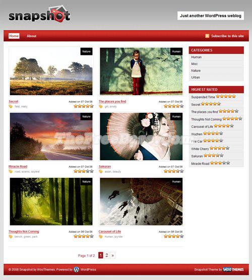 25 Free High Quality WordPress Themes 6