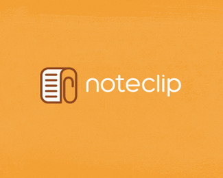 20 Beautiful Logo Design with Effective uses of Paperclip 11
