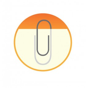 20 Beautiful Logo Design with Effective uses of Paperclip 15