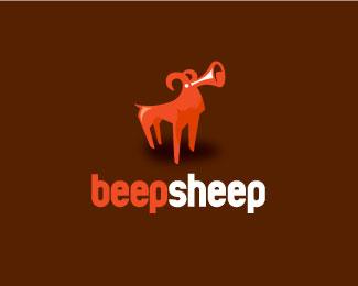 30 Beautiful Sheep Logo Designs 7