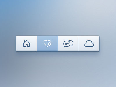 20 Free UI Element PSD Files
