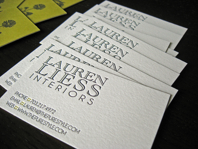 20 Clean White Business Cards for Inspiration