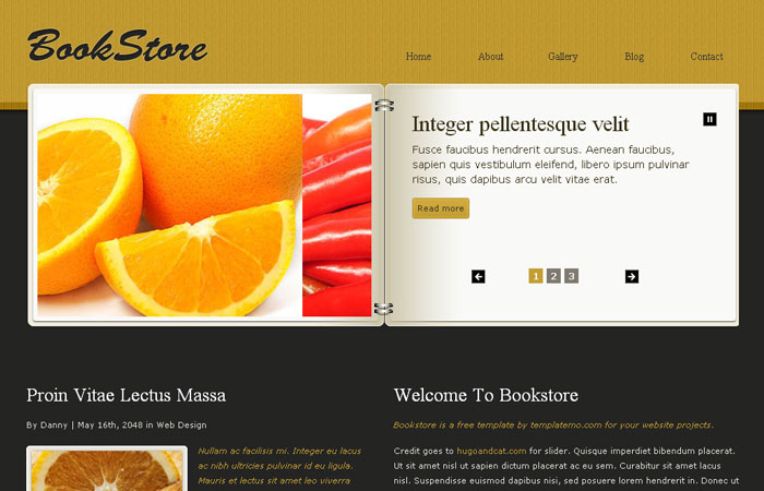 20 Free Responsive High Quality HTML/CSS Website Template 8