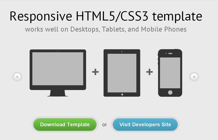 20 Free Responsive High Quality HTML/CSS Website Template 2