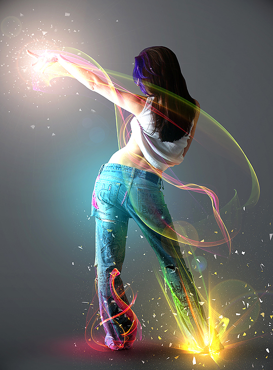 10 Advanced Photoshop Tutorials for Lighting Effects 2