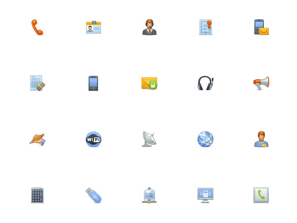 A Beautiful Collection of Free Web Icons