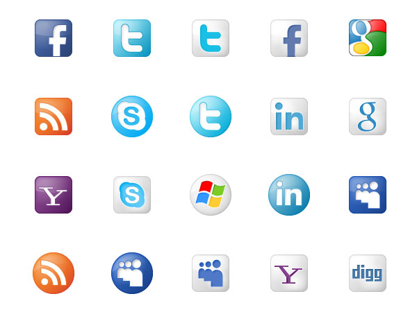 A Beautiful Collection of Free Web Icons 9