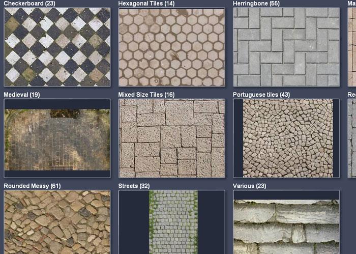 8 Excellent Galleries of Free Photoshop Textures 5