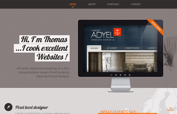 30 Excellent Web Designer Portfolio Websites