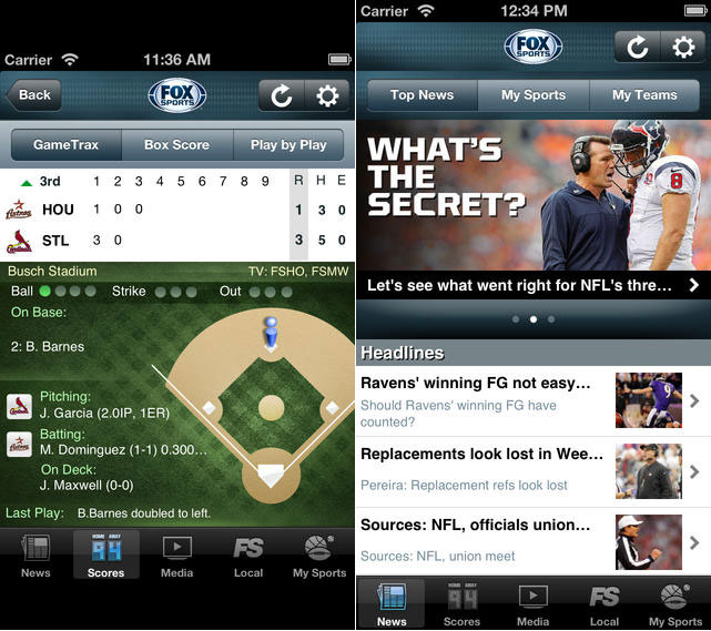 Apps:10 Best Free Sports Apps For iPhone and iPad