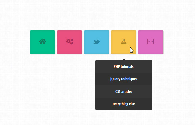 15 Fresh Navigation Menu Tutorial using CSS3 and HTML5