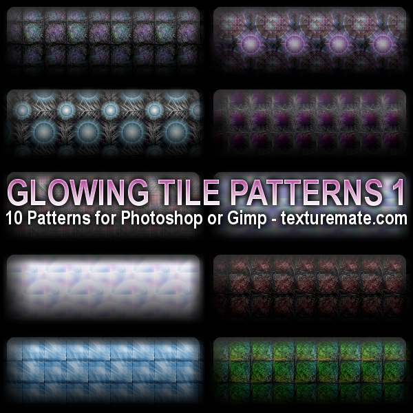 20 Latest Useful Free Photoshop Pattern Sets for Designers 1