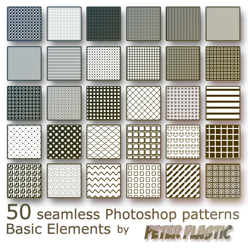 20 Latest Useful Free Photoshop Pattern Sets for Designers 15